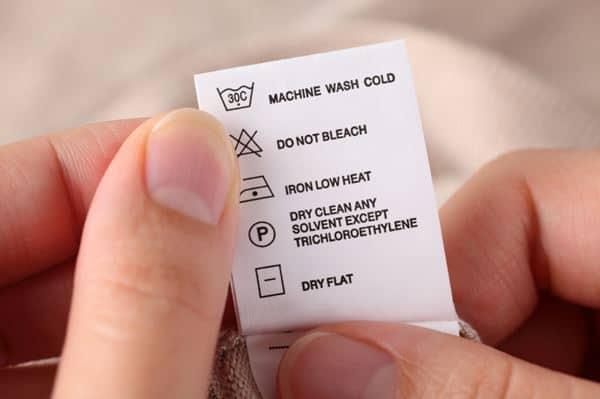 Baca Label Petunjuk Perawatan Pakaian