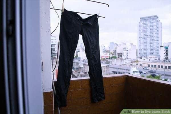 Jemur cara menghitamkan celana yang sudah kusam
