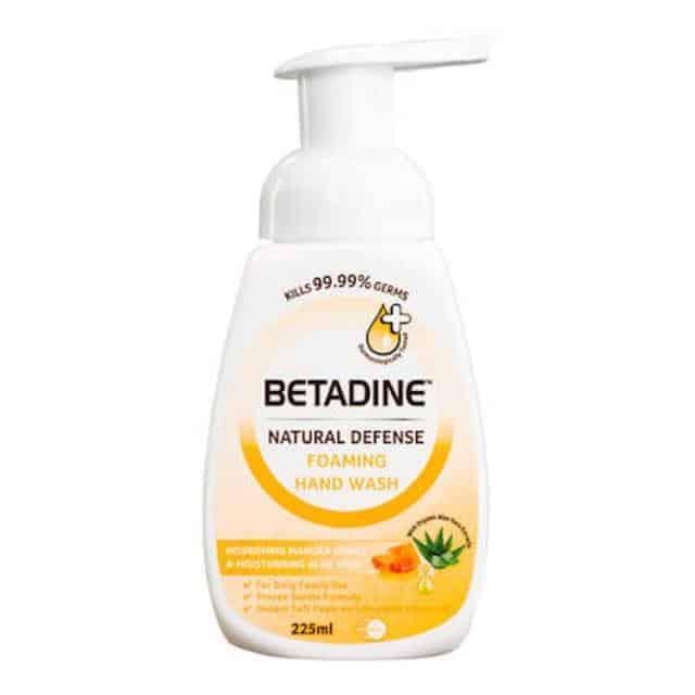 merk sabun tangan yang bagus_Betadine Foaming Handwash (Copy)