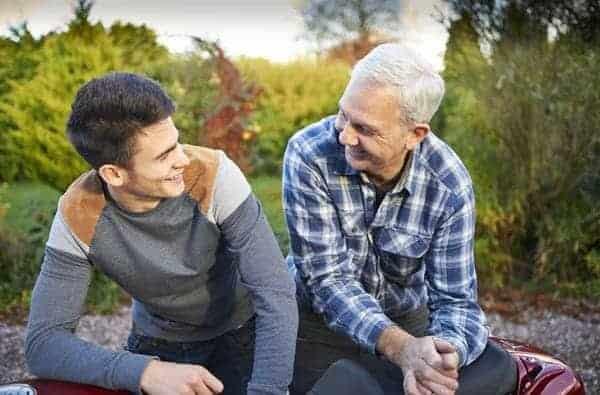Cara menasehati orangtua Father and Son