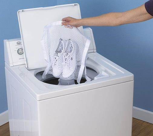 Vans in Washing Machine