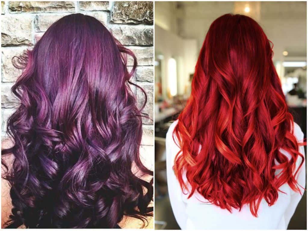 Berganti-ganti Warna dan Gaya Rambut
