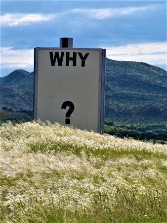 'Kenapa' Bukan 'Apa'