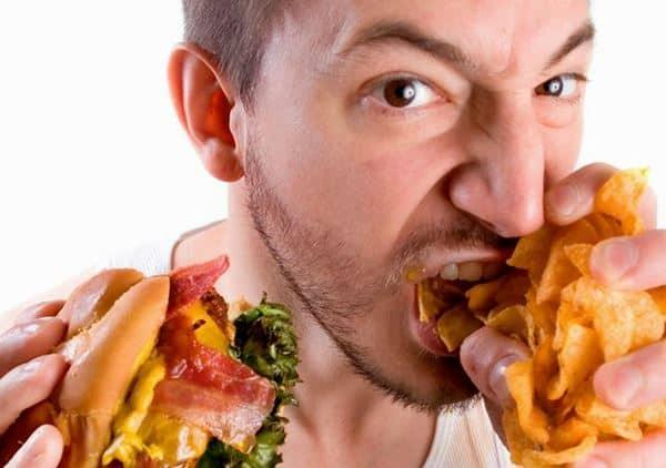 Sulit Mengontrol Asupan Makanan