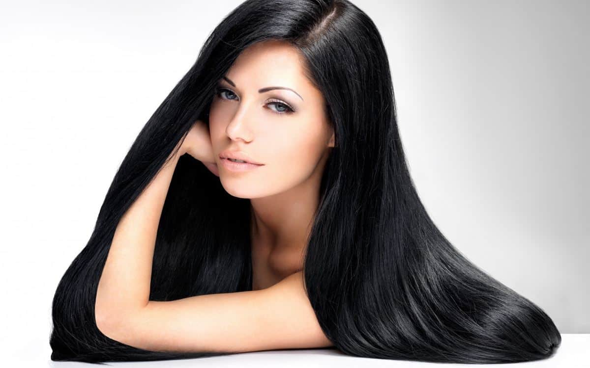 Rambut Hitam Berkilau