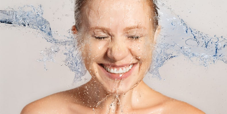 hidrasi wajah kulit muka bilas cuci