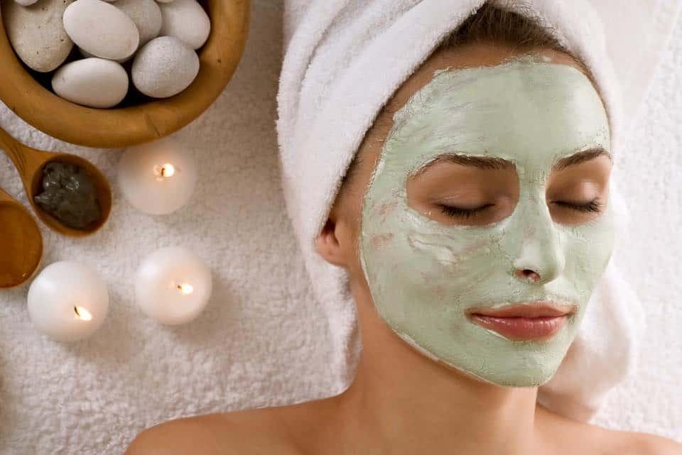 facial mask Relaksasi spa