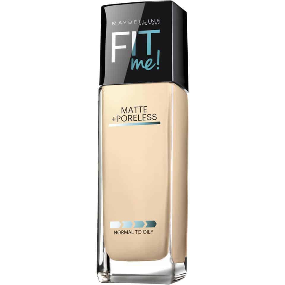 MatteFoundation fit me maybelline