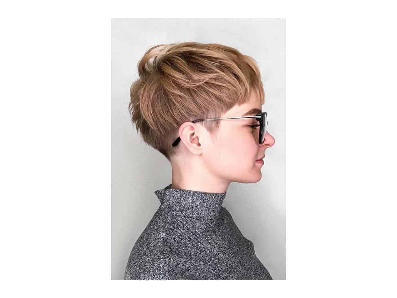 rambut pendek botak