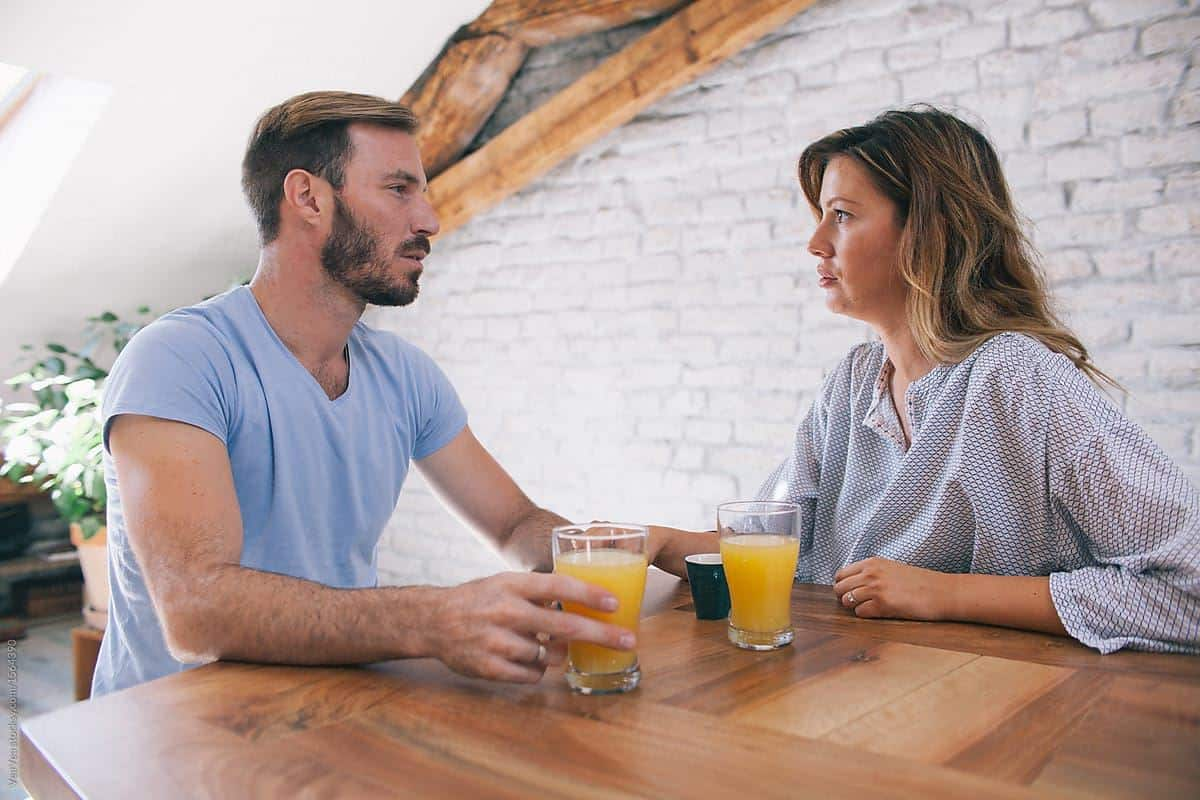Bertukar Argumen Bersama Pasangan