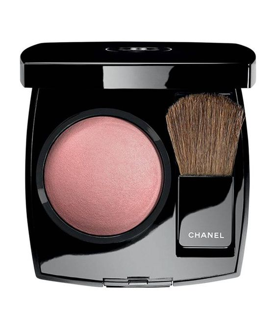 Shimmery blush on chanel