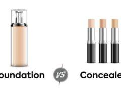 foundation vs concealer