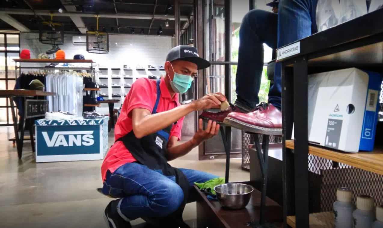shoes and care bandung tempat reparasi sepatu di bandung
