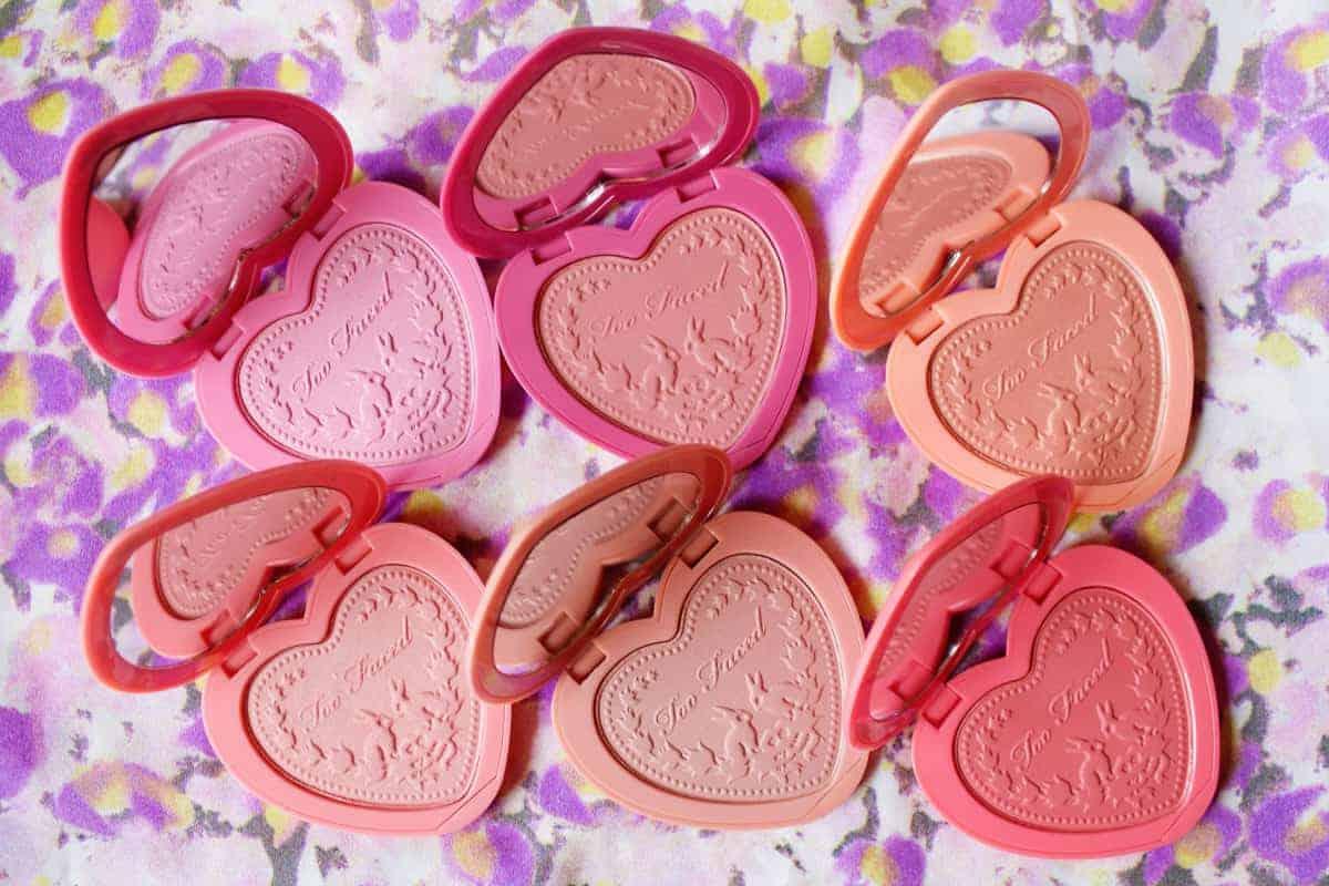 blush on Powder too-faced-love-flush