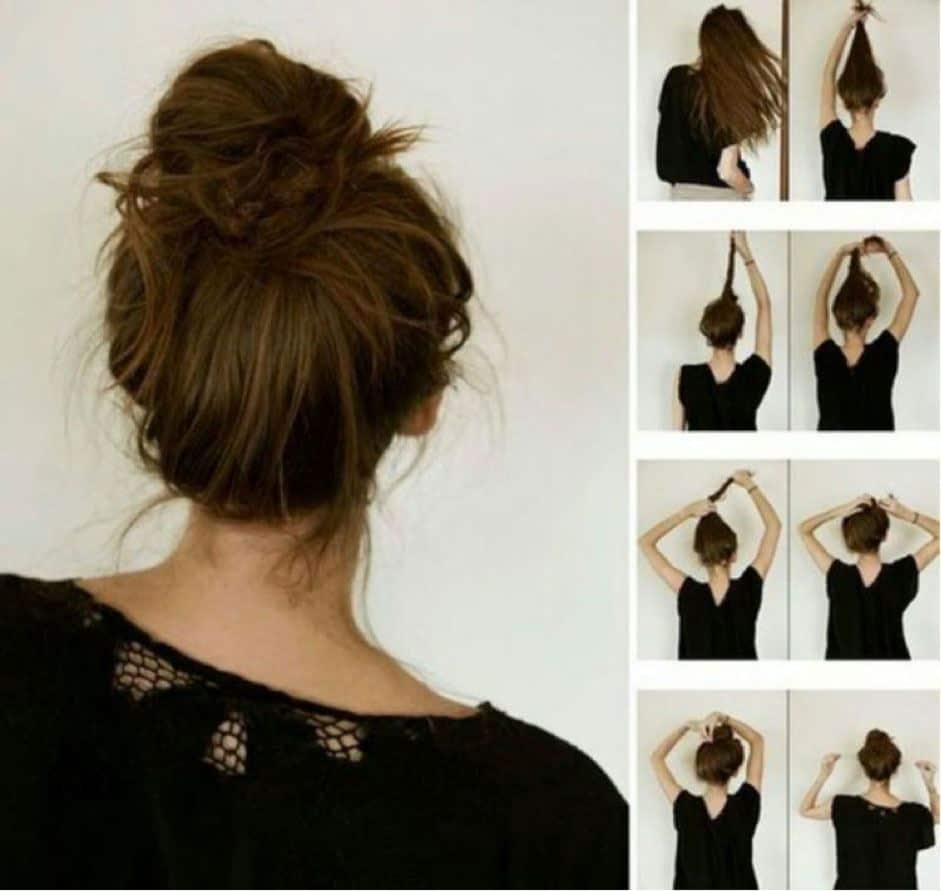 8 Cara Mengikat Rambut Panjang Yang Simple Dan Mudah