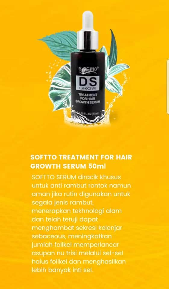 Softto Treatment for Hair Growth Serum