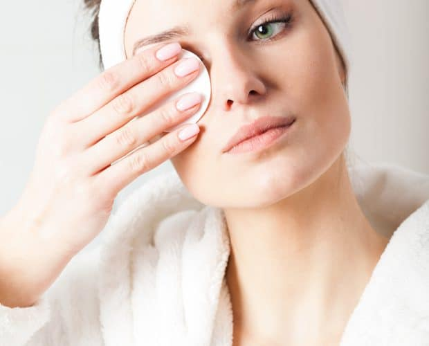 Kapas kecantikan eye makeup remover