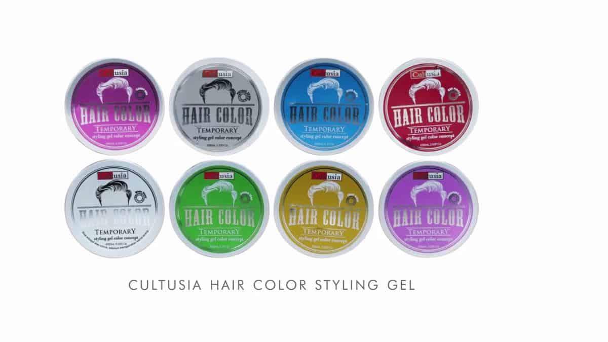 Cultusia Hair Color Temporary Styling Gel