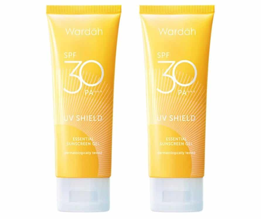 sunscreen untuk wajah berminyak_Wardah UV Shield Essensial Sunscreen Gel
