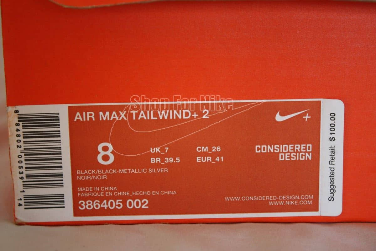 Cek Secara Teliti Label Detail di Kotak Sepatu