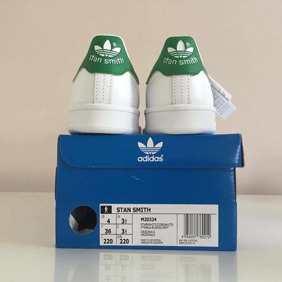 Lihat Label Detail pada Kotak
