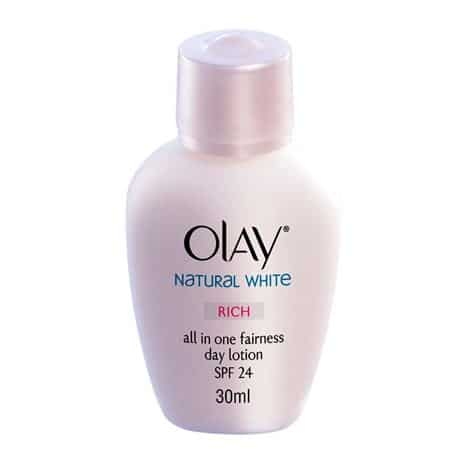 Natural White Rich all in One Fairness Day Lotion SPF 24
