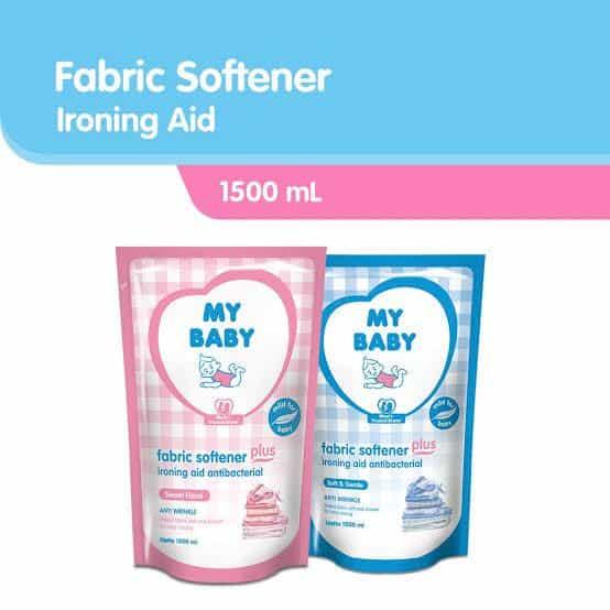 My Baby Fabric Softener Plus Ironing Aid Antibacterial