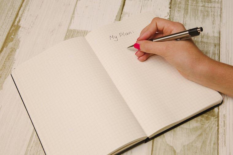 Tulis Daftar Kegiatan yang Ingin Dilakukan