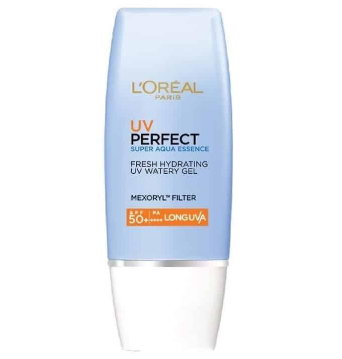 sunscreen yang bagus_L'Oreal Paris UV PERFECT Aqua Essence Advanced Watery Gel (Copy)