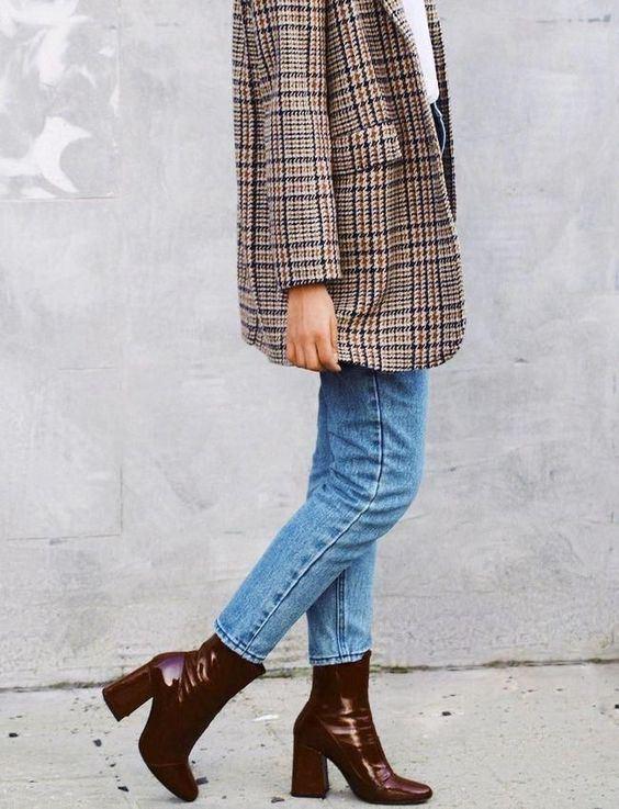 Blazer dan Skinny Jeans untuk Stylish Look