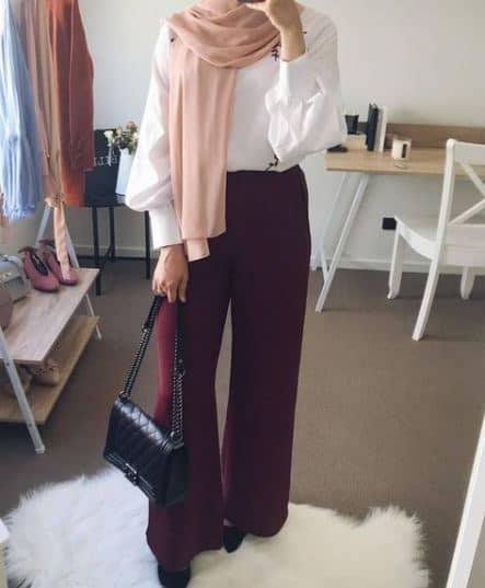 Celana Wide Leg atau Kulot