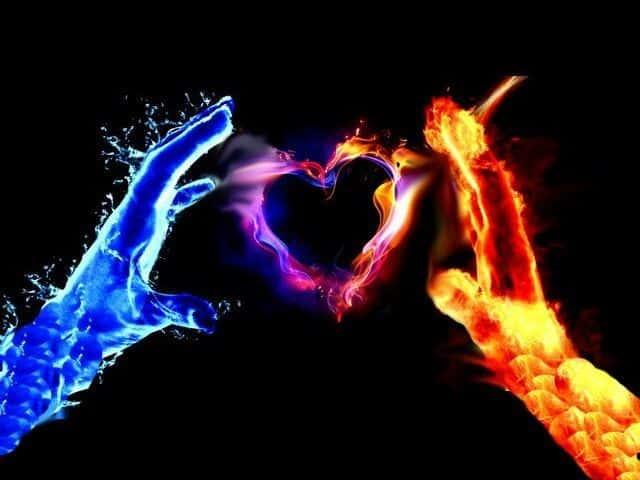 Cinta Beraura Membara, Sayang Beraura Menghangatkan