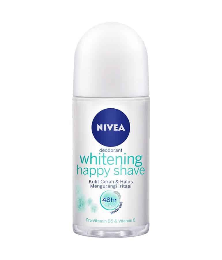 Nivea Deodorant Whitening Happy Shave