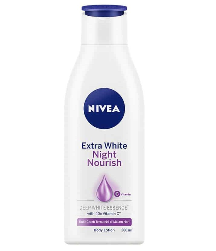 Nivea Extra White Night Nourish Lotion