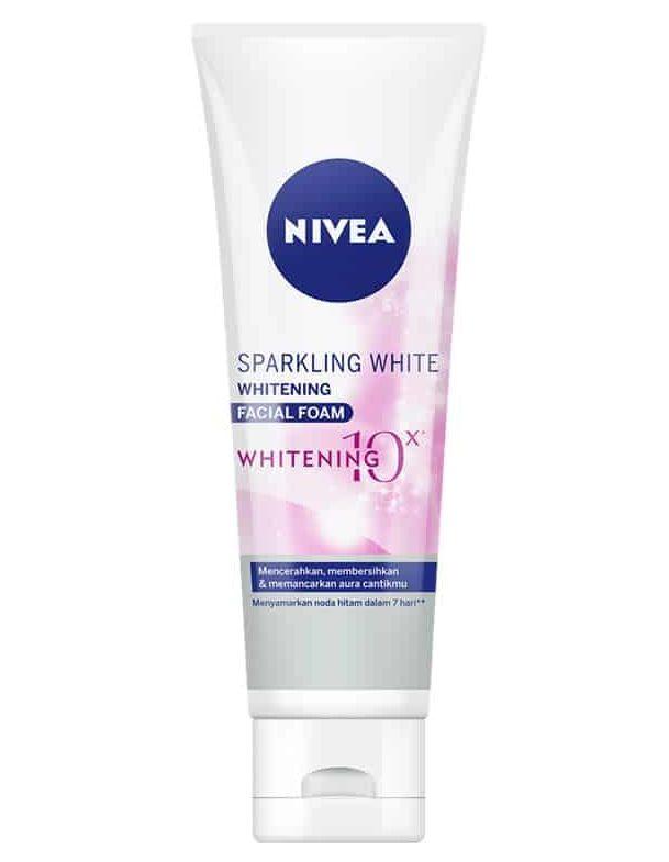 Nivea Sparkling White Whitening Facial Foam