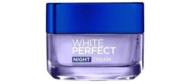 White Perfect Night Moisturizer