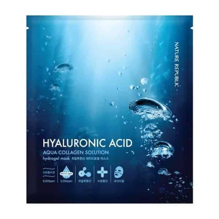Aqua Collagen Solution Hyaluronic Acid Hydro Gel Mask