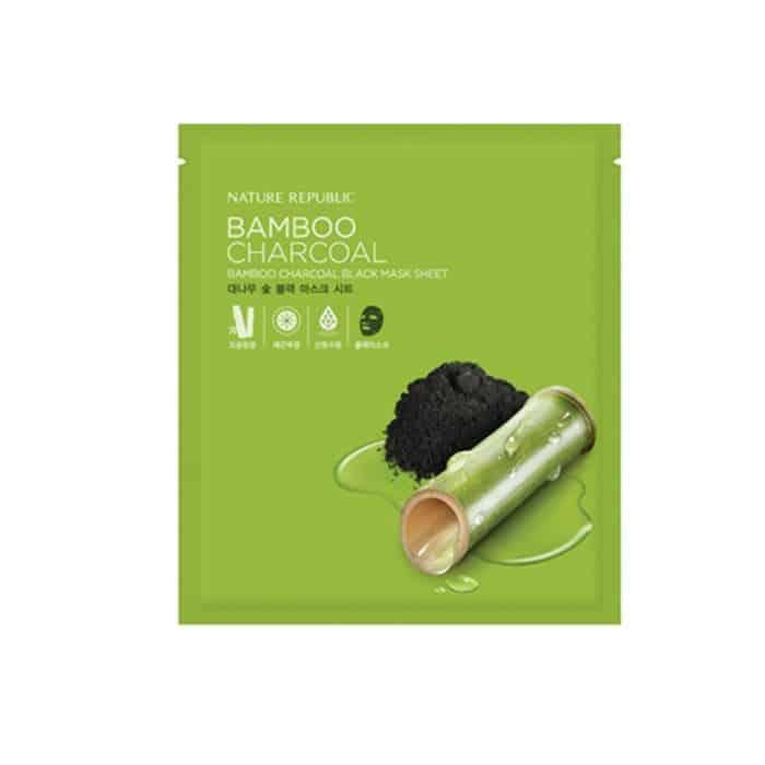 Bamboo Charcoal Black Mask Sheet