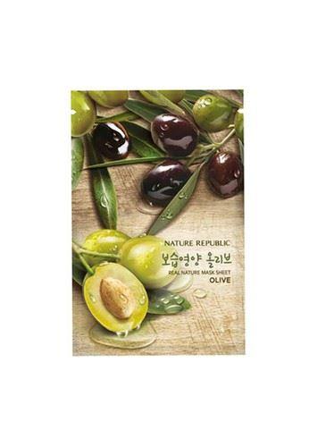 Real Nature Olive Mask Sheet