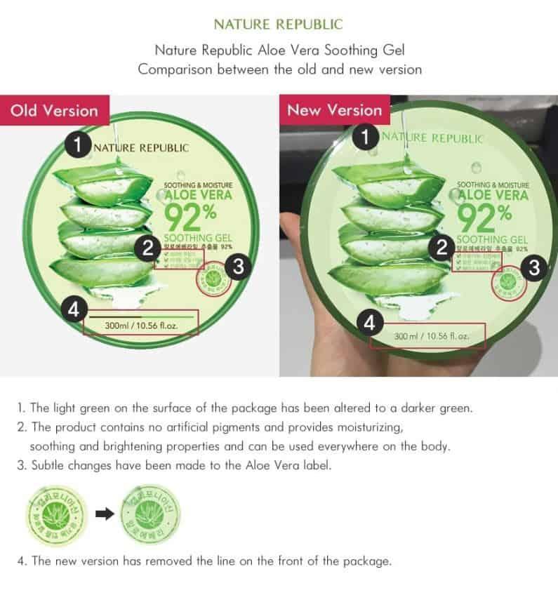 Cara Membedakan Nature Republic Aloe Vera Asli dan Palsu