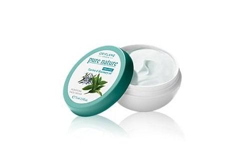 Pure Nature Organic Tea Tree & Rosemary Purifying Face Cream