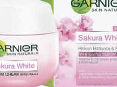 Garnier Sakura White Serum Cream