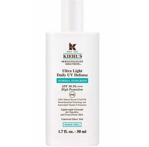 Kiehl's Ultra Light Daily UV Defense Mineral Sunscreen SPF 50 PA