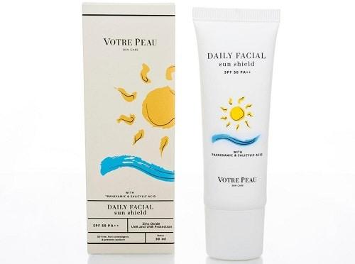 Votre Peau Daily Facial Sun Shield SPF 50 PA++