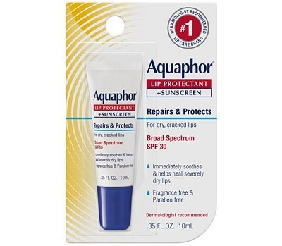 Aquaphor Lip Protectant Plus Sunscreen SPF 30