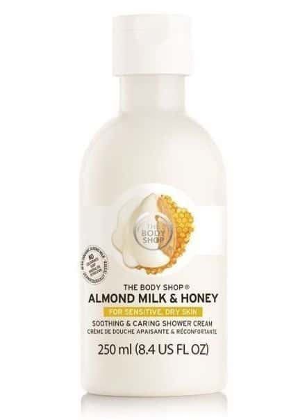 The Body Shop Almond Milk & Honey Soothing & Caring Shower Cream