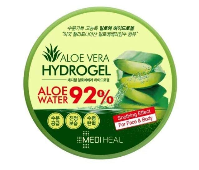 merk aloe vera gel terbaik_Mediheal Aloe Vera Hydrogel 92% (Copy)