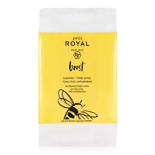 Jafra Royal Boost Cleanse Tone Wipes