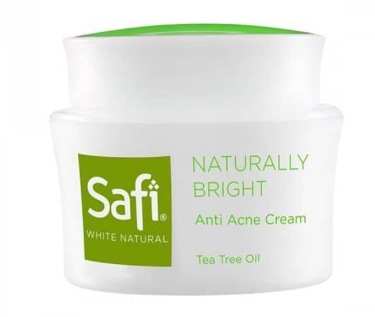 produk tea tree oil_Safi White Natural Oil Control and Anti Acne Cream Tea Tree OIl (Copy)