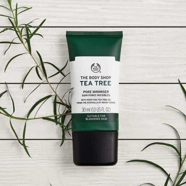 produk tea tree oil_The Body Shop Tea Tree Pore Minimizer (Copy)